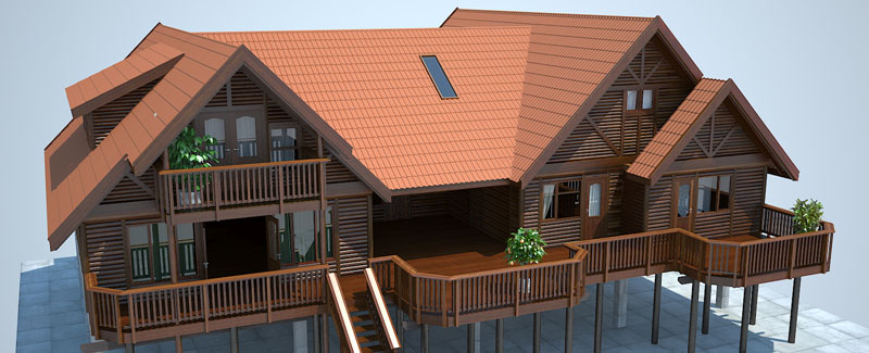 Log Home Plans Timber House Plans Log Cabin Plans